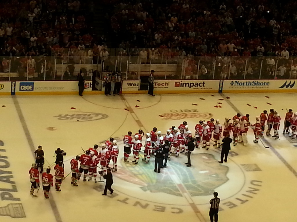 2013 Western Conference Finals - Game 7 OT victory over Detroit