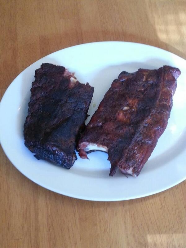 BBQ Applewood Smoked Ribs