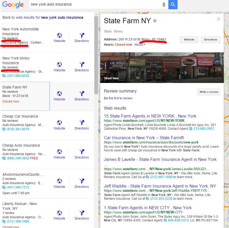 New York Auto Insurance