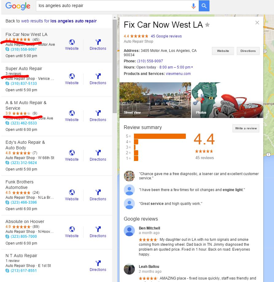 Los Angeles Auto Repair
