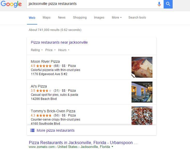 Jacksonville Pizza